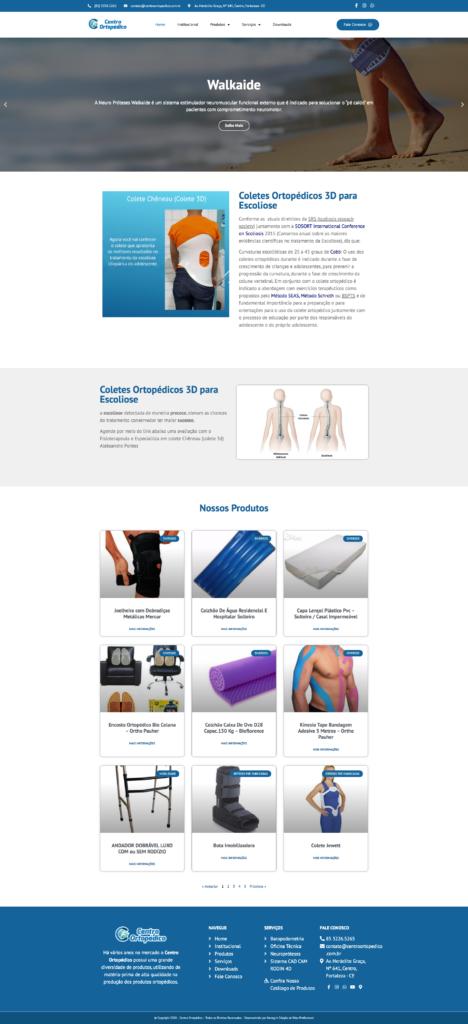 Centro Ortopédico: Produtos Ortopédicos em Fortaleza