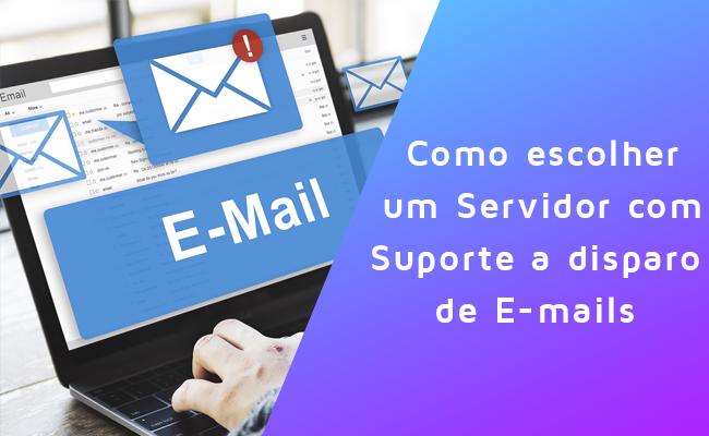 Servidor com disparo de e-mail