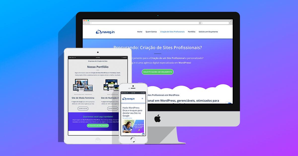 1af369a4d49bd5 Criação de Sites Profissionais em WordPress - Naveg.in