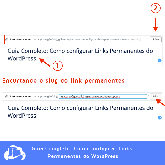 Como encurtar URLs no WordPress - Permalinks