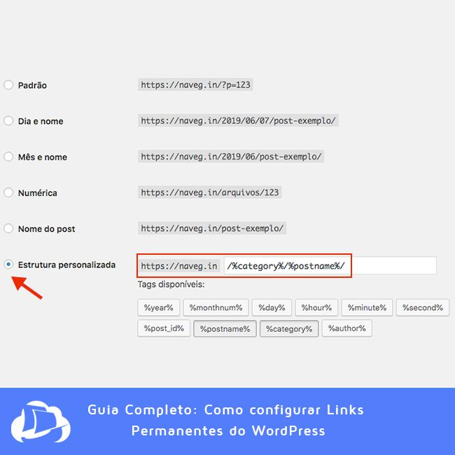 Estrutura Personalizada - WordPress