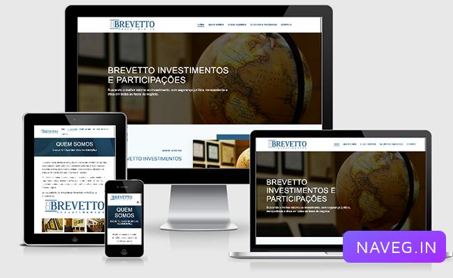 Site Institucional com WordPress