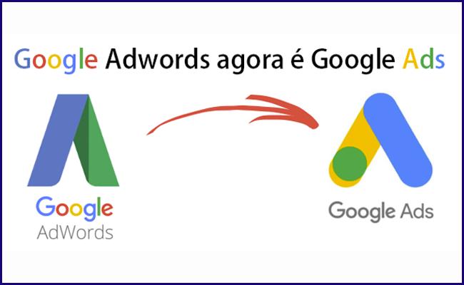Google Adwords agora é Google Ads