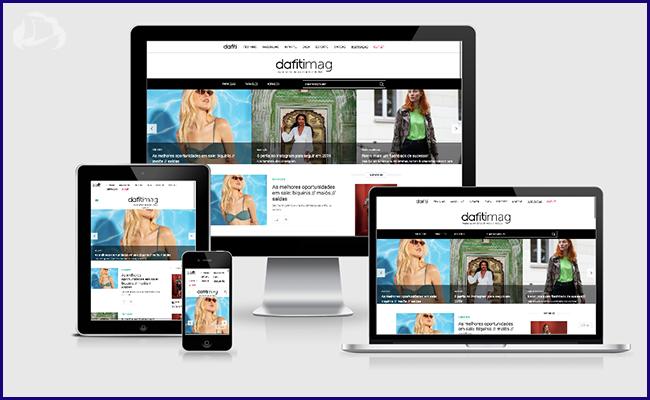 Dafiti Mag - Feito com WordPress