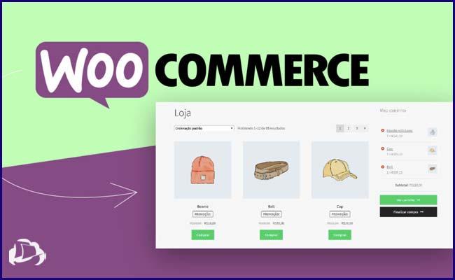 criar seu eCommerce com a WooCommerce
