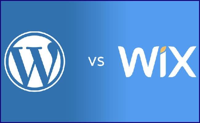 WordPress x Wix para Criação de Site