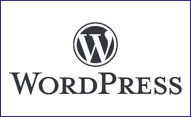 WordPress para Criação do Site